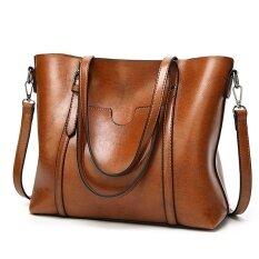 Yaer Women Top Handle Satchel Handbags Shoulder Bag Tote Purse Brown Intl Jinbeile ถูก ใน จีน
