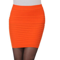 ราคา Ybc Women Fashion Office Wear Skirt Pencil Skirt Ol Skirt Orange Intl เป็นต้นฉบับ