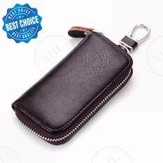 ราคา Yhl กระเป๋าหนัง กระเป๋ากุญแจ กุญแจรีโมท กระเป๋าพวงกุญแจ ใส่บัตร Kh 102 กาแฟ ใหม่
