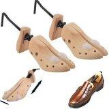 ส่วนลด Yika Men Women Wooden Adjustable 2 Way Professional Shoe Holder Stretcher Shaper Tree Size S Intl จีน