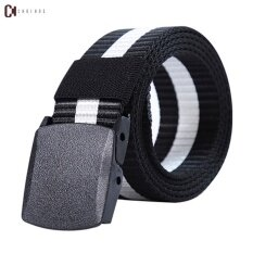 ขาย Young Men Hot Style Acu Allergy Canvas Belt Outdoor Sports Cqb Digital Camouflage Nylon Plastic Belt Intl ผู้ค้าส่ง