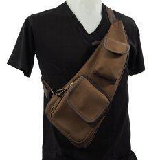ราคา Yp Design Shop 1998 กระเป๋าสะพายไหล่ คาดอกM 25 Mini Shoulder Bag Brown ใหม่