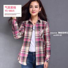 ขาย Lavro Hor เสื้อคอตตอนลายสก๊อตสไตล์สาวเกาหลี Ys 0815 Ys 0815 Unbranded Generic เป็นต้นฉบับ