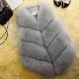 ราคา Zaful Elegant Faux Fur Coat Women Fluffy Warm Sleeveless Female Outerwear Chic Autumn Winter Coat Jacket Hairy Fashion Woman Waistcoat Intl ออนไลน์ จีน