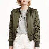 Zanzea Winter Women Bomber Hoodies Coats 2016 Cool Stand Collar Long Sleeve Short Padded Jackets Sweatshirts Biker Outwear Army Green Intl ใน จีน