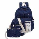 ทบทวน Zero Fashion กระเป๋าเป้สะพายหลัง 3 ใบ Backpack Set 3 Pcs