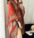 ส่วนลด Zh Ladies Long Sun Clothing Thin Coat Long Sleeve Sunscreen Red Intl Zh
