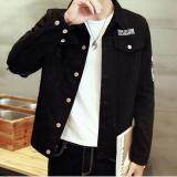 ขาย Zh Shopping Men S Fashion Cowboy Coat Of Cultivate One S Morality Black Intl ใหม่