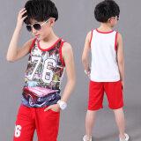 ขาย เสื้อกั๊กเด็กเสื้อกั๊กใหญ่เด็กชายฤดูร้อน 6352 สีแดง Unbranded Generic เป็นต้นฉบับ