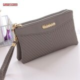 โปรโมชั่น Zipper Coin Purse Women Wallets Long Lady Purse Wallet Female Card Holder Phone Pocket Wallet Women Intl