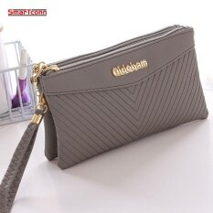ขาย Zipper Coin Purse Women Wallets Long Lady Purse Wallet Female Card Holder Phone Pocket Wallet Women Intl ราคาถูกที่สุด