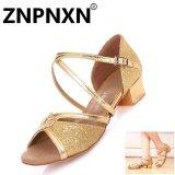ขาย Znpnxn เด็กรองเท้าเต้นรำภาษาละตินรองเท้าหนังนุ่มรองเท้าเต้นรำหญิงระบายอากาศได้รองเท้าเด็กรองเท้าเต้นรำ ทอง นานาชาติ จีน ถูก