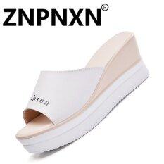 ส่วนลด Znpnxn แฟชั่นฤดูร้อนรองเท้าแตะรองเท้าแตะกับรองเท้าแตะแฟชั่นสตรีรองเท้าแตะสไลด์รองเท้า สีขาว นานาชาติ จีน