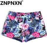 ขาย Znpnxn Fashion Women S Beach Board Shorts Bottoms Quick Drying Plus Large Size Swimwear Swimsuits Summer Fitness Jogger Boxer Trunk Intl Znpnxn ออนไลน์