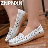 ขาย Znpnxn รองเท้าสตรีรองเท้าหนังรองเท้าแฟชั่นรองเท้าลำลอง สีขาว นานาชาติ Znpnxn เป็นต้นฉบับ
