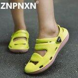 ซื้อ Znpnxn Ladies Sandals Casual Breathable Shoes Comfortable Sandals Green) Intl Znpnxn