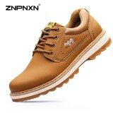 ราคา Znpnxn Men S Shoes Fashion Casual Frock Shoes Sports Shoes Fashion Tide Outdoor Sports Shoes Casual Shoes Mens Shoes Casual Leather Shoes Khaki Intl Znpnxn เป็นต้นฉบับ