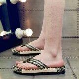 ซื้อ Znpnxn Men S Shoes New Men S Slippers Summer Style Casual Fashion Flat Heel Flip Flops Non Slip Comfortable Massage Shoes Bed Chaussure Homme Size 39 44 Yards Army Green Intl ใหม่ล่าสุด