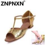 ขาย Znpnxn ใหม่เด็กรองเท้าเต้นรำละตินรองเท้าเด็กเต้นรำเลื่อมละตินรองเท้าเด็กฝึกรองเท้า ทอง นานาชาติ Znpnxn ผู้ค้าส่ง