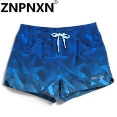ขาย ซื้อ Znpnxn Women S Fashion Beach Board Shorts Casual Bottoms Fashion Plus Big Size Quick Drying Fitness Jogger Boxer Trunks Swimwear Intl