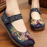 ขาย ซื้อ Znpnxn รองเท้าสตรีประเทศไทยรองเท้ารองเท้าส้นแบนรองเท้าแตะและรองเท้าส้นเตารีด สีฟ้า จีน