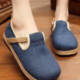 ขาย Znpnxn รองเท้าสตรี Thailand รองเท้ารองเท้า Slip On รองเท้ารองเท้าแตะ Loafers สีฟ้า เป็นต้นฉบับ
