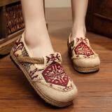 โปรโมชั่น Znpnxn รองเท้าสตรี Thailand รองเท้ารองเท้า Slip On รองเท้ารองเท้าแตะ N Loafers สีแดง