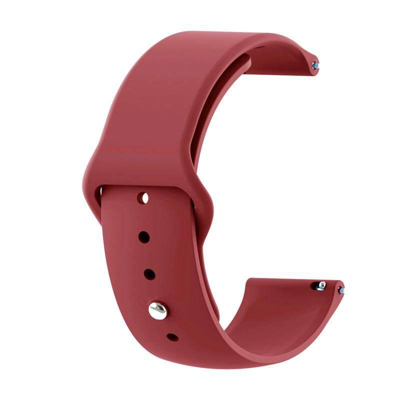 SAMSUNG Samsung Galaxy Watch Strap 42/46 Mm Sports Silicone Watch Strap  Anti-Button S4 Watch Strap