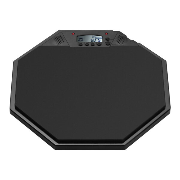 Electric Practice Pad Dumb Drum Electronic Drum Pad with Digital LCD Display Metronome/Count/Tap Mode for Kids Beginners Malaysia