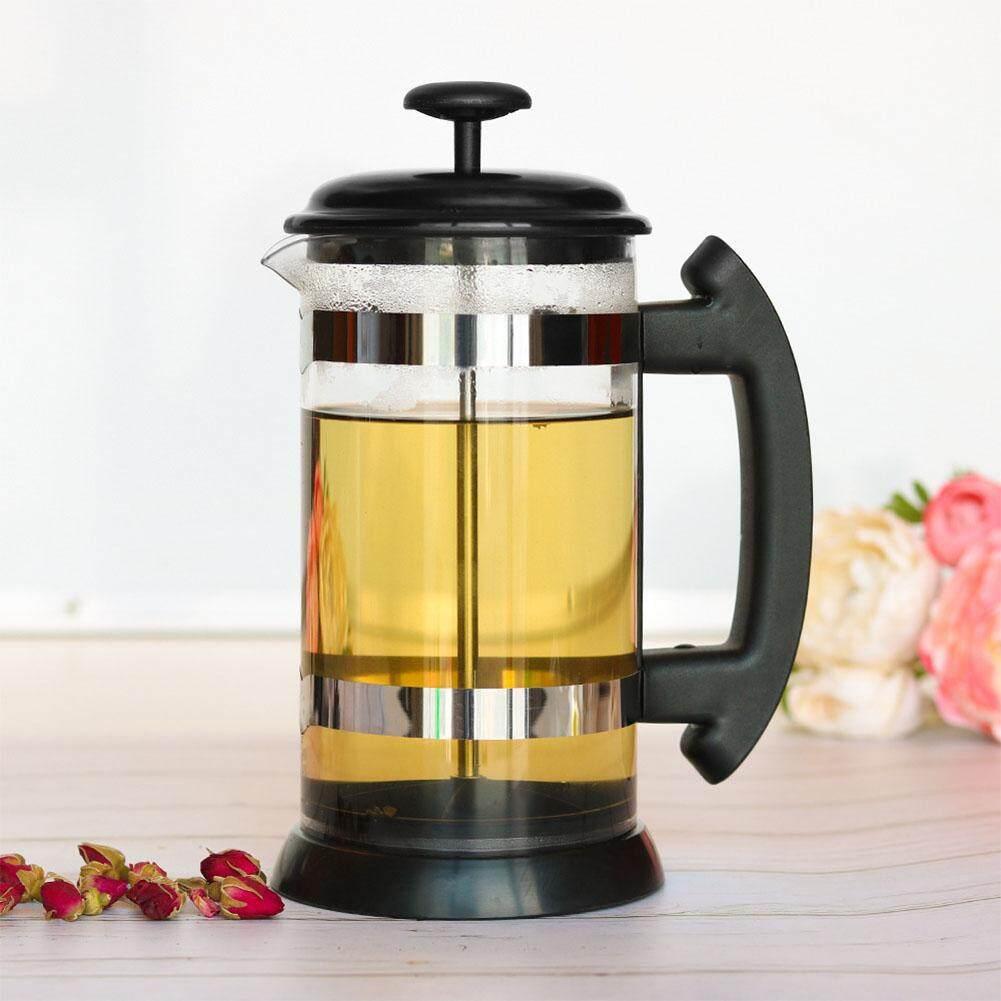 Olife 500 ml - 1000 ml สแตนเลสแก้ว Household ภาษาฝรั่งเศสคำหม้อแรงดันกรอง Cafetiere เครื่องชงกาแฟชา