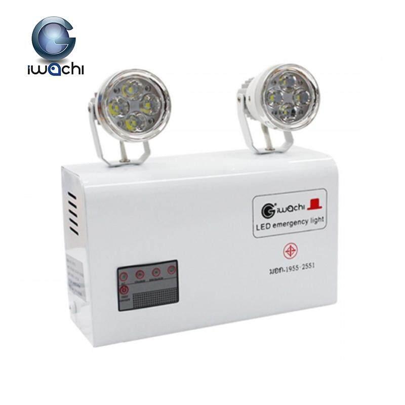 IWACHI ไฟฉุกเฉิน Automatic Emergency Light 6W 10W 12W รุ่น GE-2003