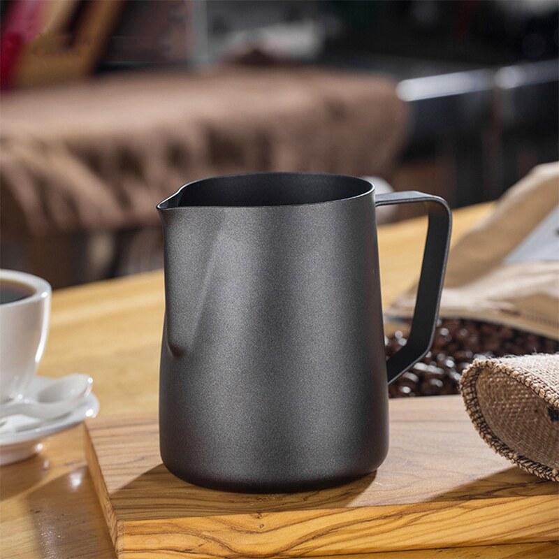 Giá 350ML Non-Stick Stainless Steel Pitcher Milk Frothing Jug Espresso Coffee Pitcher Barista Craft Coffee Latte Milk Jug Pitcher