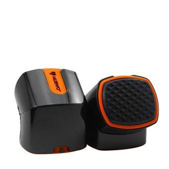 NUBWO DIZZE ลำโพง USB รุ่น NS-002-สีส้ม