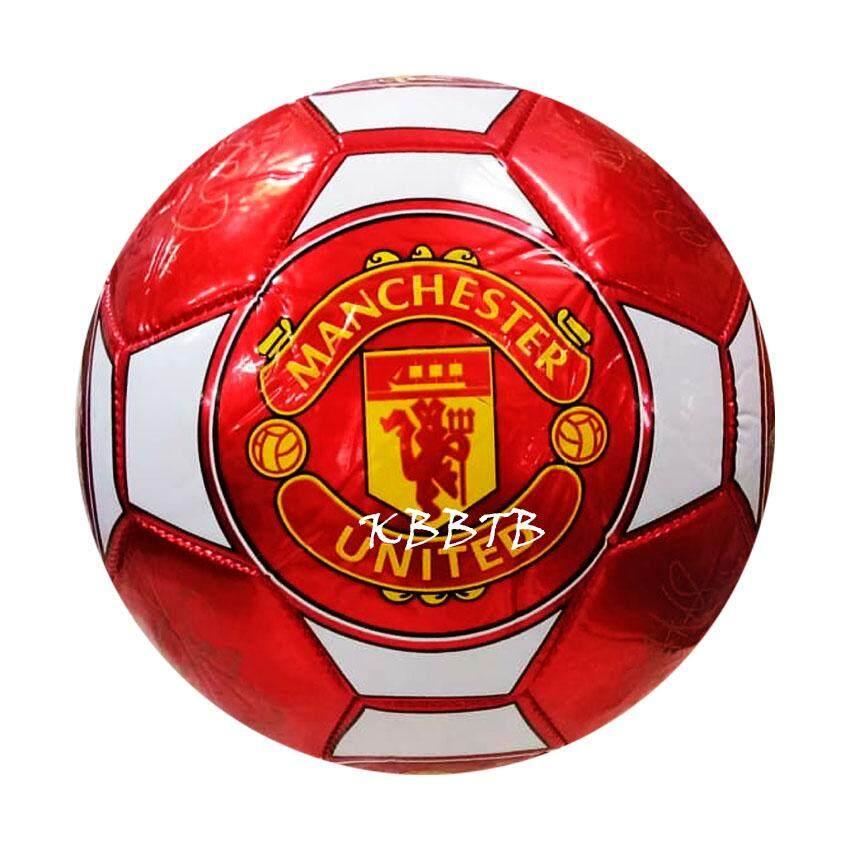 Patipan Toy บอลหนัง ฟุตบอลเบอร์ 5 ฟุตบอลหนังสำหรับเด็ก ลูกใหญ่ สีสดใส.