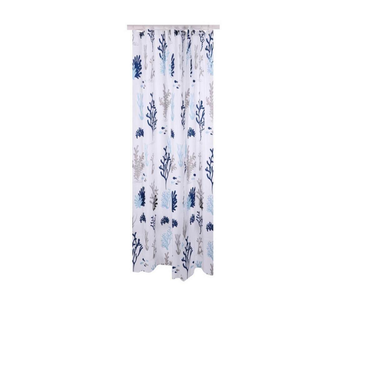 Shower Curtain Cm ม่านห้องน้ำ Poly Moya Acs17020 180x180 ซม. By The Eight Shop.