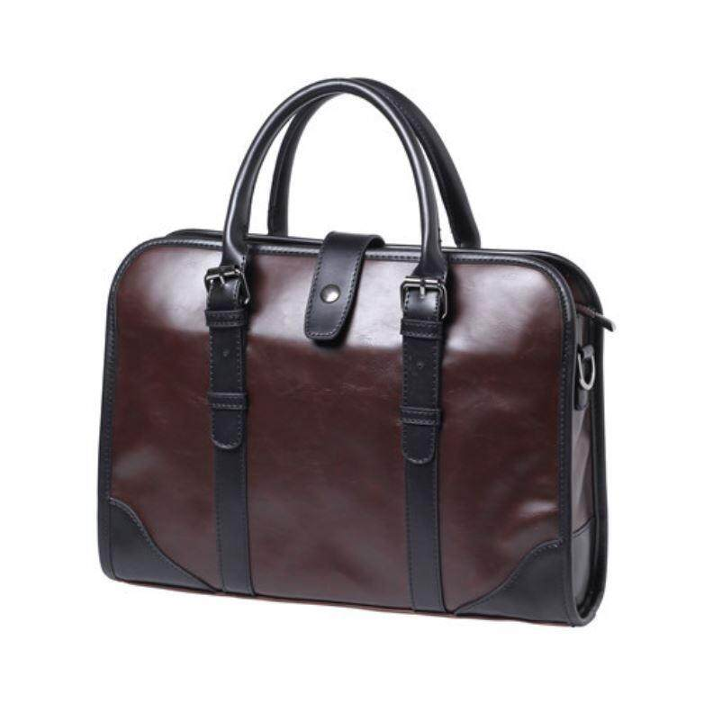 กระเป๋าผู้ชาย กระเป๋าถือ กระเป๋าสะพายไหล่ผู้ชาย กระเป๋าเอกสาร เเนวธุรกิจ Korean Style.