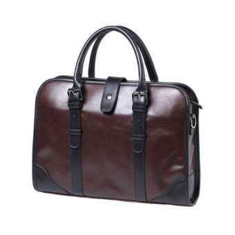 กระเป๋าผู้ชาย กระเป๋าถือ กระเป๋าสะพายไหล่ผู้ชาย กระเป๋าเอกสาร เเนวธุรกิจ Korean Style-