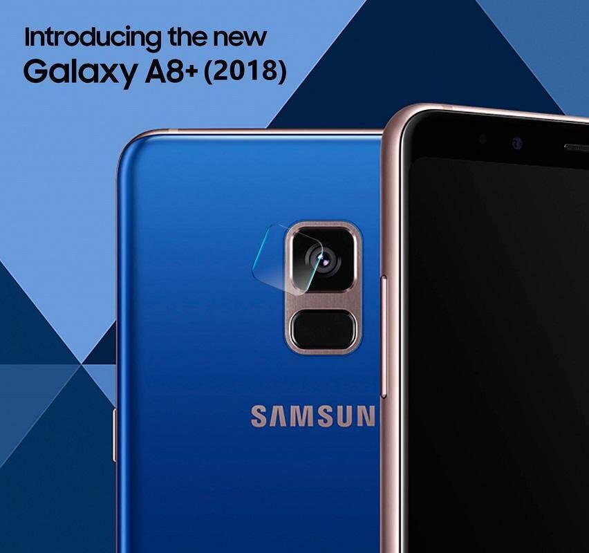 ฟิล์มกระจก นิรภัย กันรอยเลนส์กล้อง สำหรับ ซัมซุง เอ8 พลัส (2018) Lens Camera Protector For Samsung Galaxy A8+ (2018) (6.0 ).