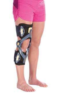 ADVAGO Knee อุปกรณ์พยุงข้อเข่าแบบมีแกน ปรับมุมได้,OPED,Knee support-