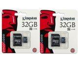 ซื้อ Kingston เมมโมรี่การ์ด Micro Sd 32 Gb แพ็ค 2 ชิ้น ถูก ใน ไทย
