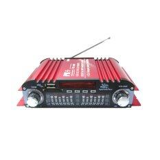 ส่วนลด สินค้า Pk Usb Sd Fm Amplifier 4Ch รุ่น Pk 681 สีแดง