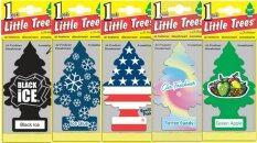 ขาย Little Trees แผ่นน้ำหอมปรับอากาศ รูปต้นไม้ คละกลิ่น 5 ชิ้น เซต 2 Little Trees เป็นต้นฉบับ
