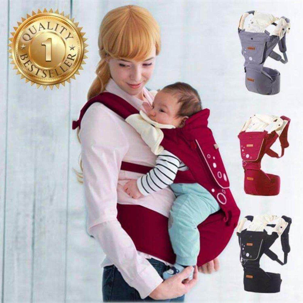 MEGA Baby Shoulder and Hip Seat Carrier imama Korea Design MG0093 (RED)