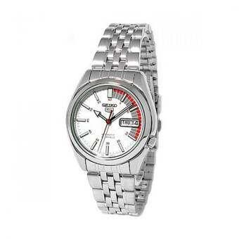 Seiko นาฬิกาข้อมือสุภาพบุรุษ ทน ไม่ต้องใช้ถ่าน ระดับตำนาน สายสแตนเลส  Automatic  รุ่น SNK369K1 - sil-