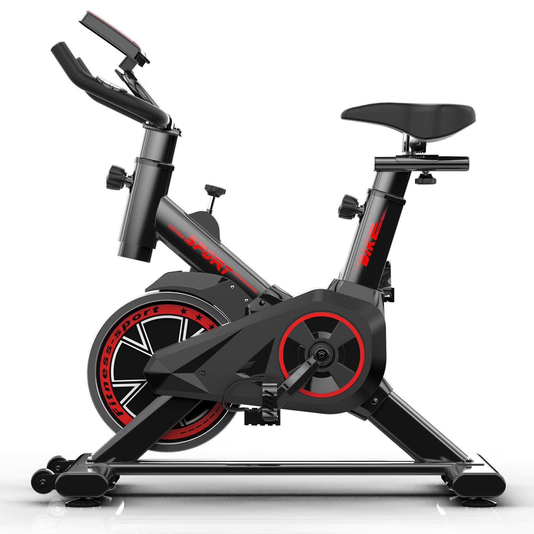 จักรยานออกกำลังกาย Exercise Spin Bike จักรยานฟิตเนส Spinning Bike Spinbike เครื่องปั่นจักรยาน S2019d By Pro_kitchen.