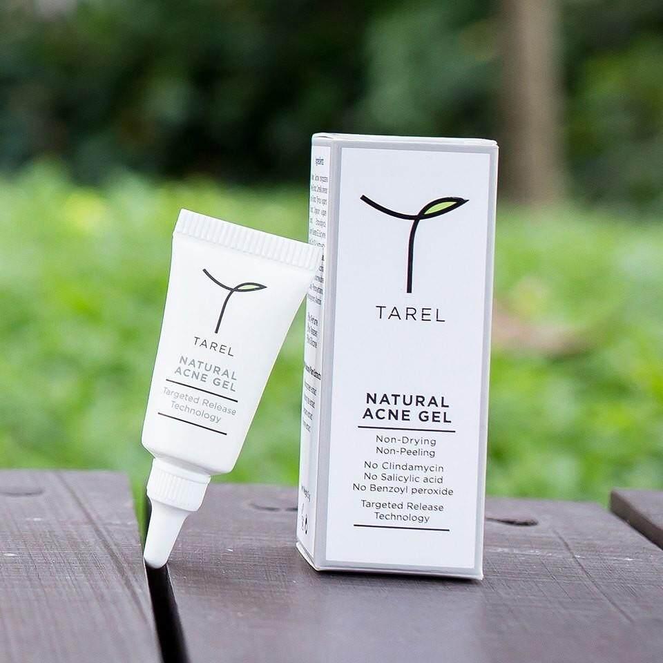 ✨TAREL Natural Acne Gel✨ ทาเรล เนเชอรัล แอคเน่ เจลแต้มสิว 1 หลอด (5 กรัม/หลอด)ของแท้