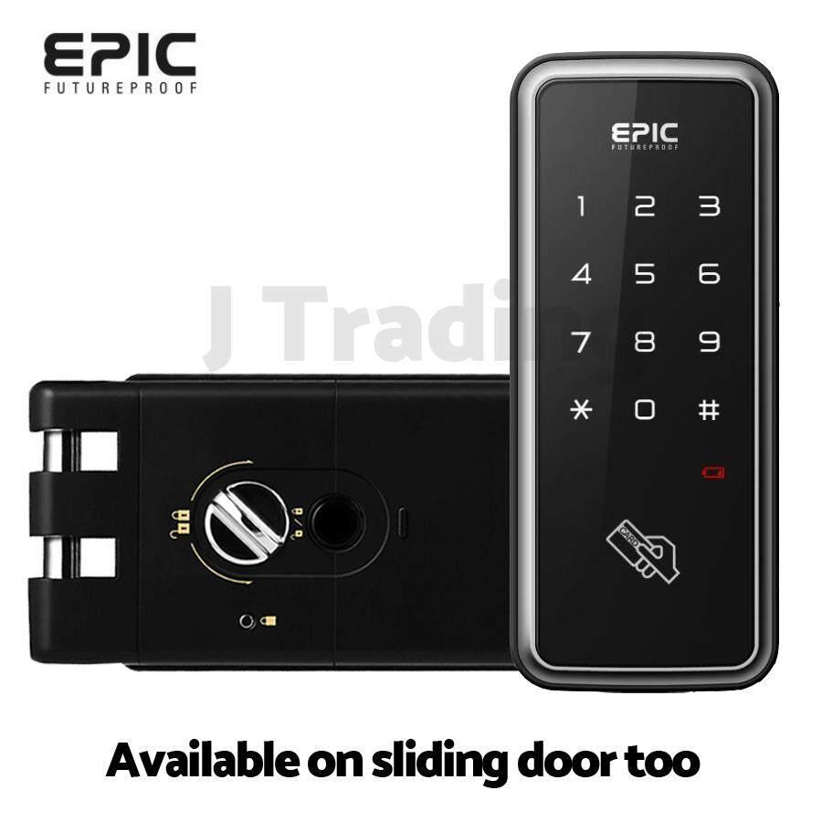 [epic] อิเล็กทรอนิกส์ล็อค กลอนประตูดิจิตอล รุ่น Touch Hook (eh-608h).