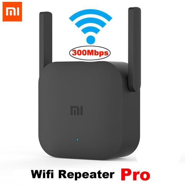 Giá Bộ khuếch đại wifi Xiaomi Mijia Pro 300m Mi, Bộ mở rộng bộ định tuyến mở rộng bộ định tuyến điện xoay chiều 2 ăng-ten cho Bộ định tuyến Wi-Fi