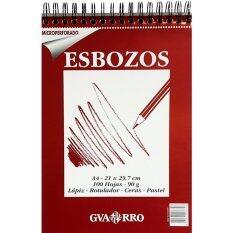 ซื้อ Canson สมุดสเก็ตซ์ Esbozo 90 G A4 100 แผ่น 200 406 660 ถูก ใน ไทย
