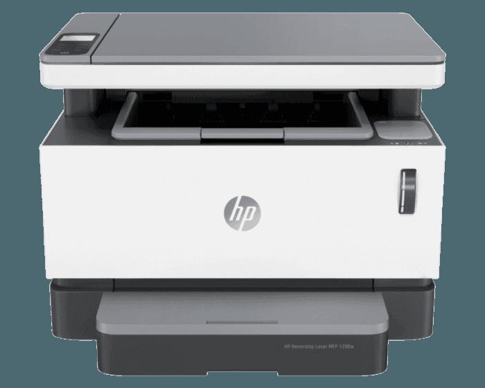 Hp Neverstop Laser Mfp 1200w All In One Printer เครื่องปริ้นเลเซอร์ ปริ้น ขาวดำ All In One พิมพ์ / สแกน / ถ่ายเอกสาร ( Printerlaser ปรินเตอร์ ปริ้นเตอร์ ปริ๊นเตอร์ เครื่องปริ๊น 4ry26a ).